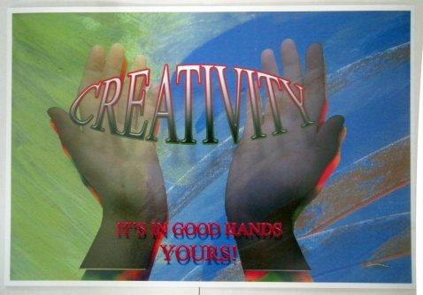 Creative-Hands-poster-13x19